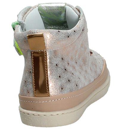 Rondinella Chaussures à fermeture à glissière et lacets  (Rose), Rose, pdp