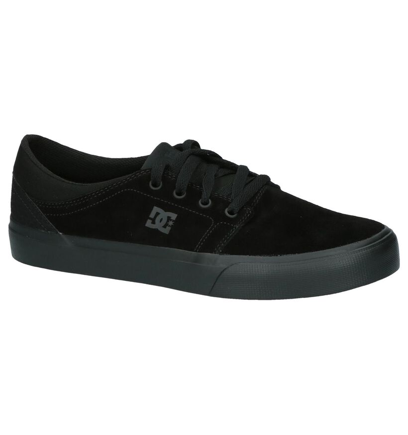Zwarte DC Shoes Trase SD Skateschoenen in daim (207900)