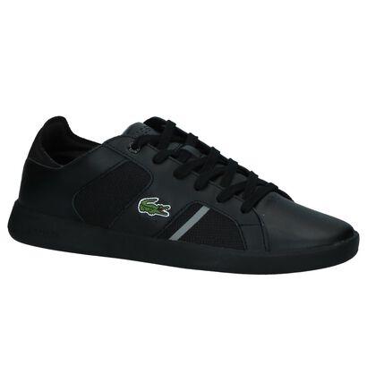Zwarte Sneakers Lacoste Novas in leer (222701)