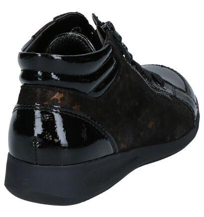 Ara High-Soft Chaussures Hautes en Noir en cuir (260851)