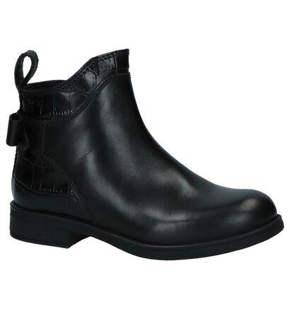 Zwarte Hoge Schoenen Geox in leer (232717)