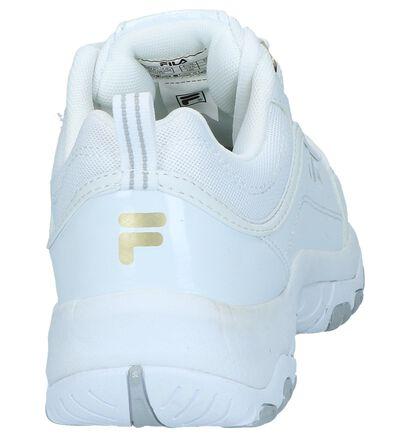 Zwarte Lage Sneakers Fila Strada, Wit, pdp
