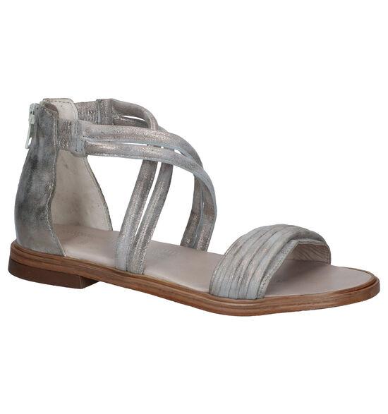 Mjus Zilveren Sandalen