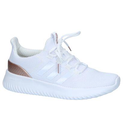 adidas Cloudfoam Ultimate Zwarte Runner Sneakers, Wit, pdp