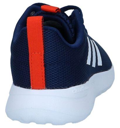 Blauwe Sneakers Adidas Lite Racer in stof (237184)