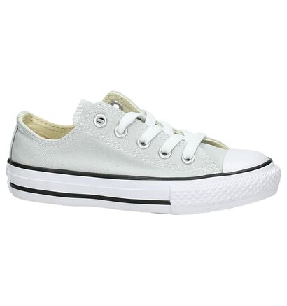 Zwarte Sneakers Converse Chuck Taylor AS OX in stof (238427)