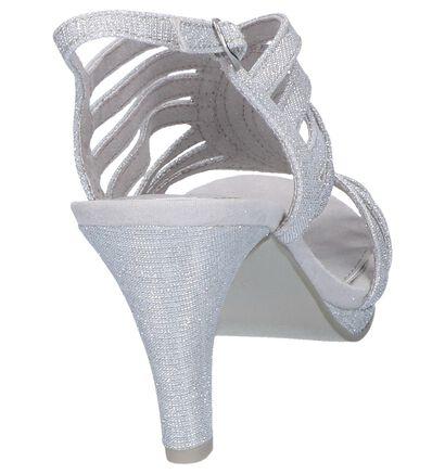 Zilveren Sandalen Marco Tozzi in stof (243016)