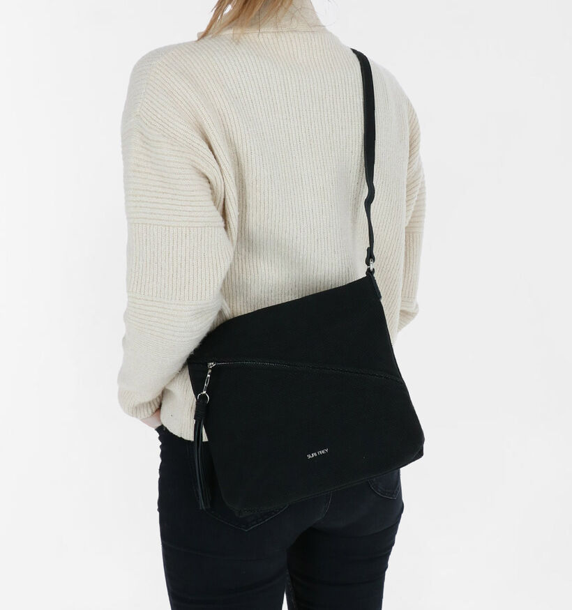 Suri Frey Holly Zwarte Crossbody Tas in kunstleer (290105)