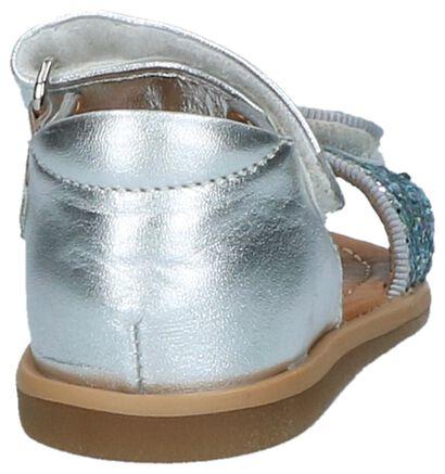 Zilveren Babysandalen met Glitters Shoo Pom Tity Scratch, Zilver, pdp