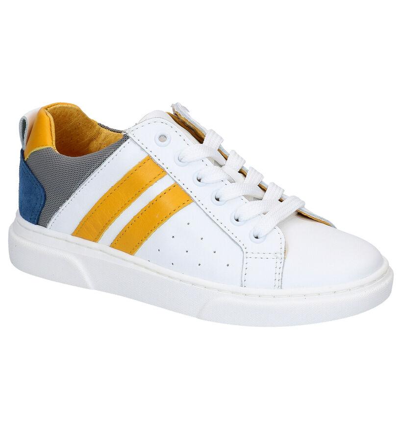 Hampton Bays Chaussures basses en Blanc en cuir (266194)