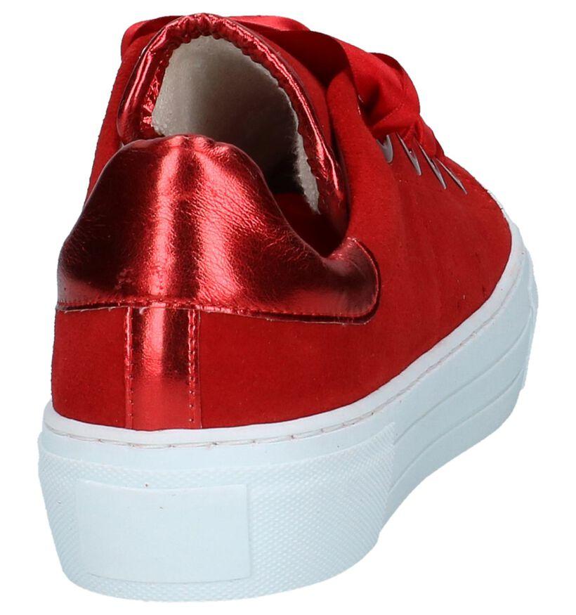 Tango Baskets basses en Rouge en daim (235721)