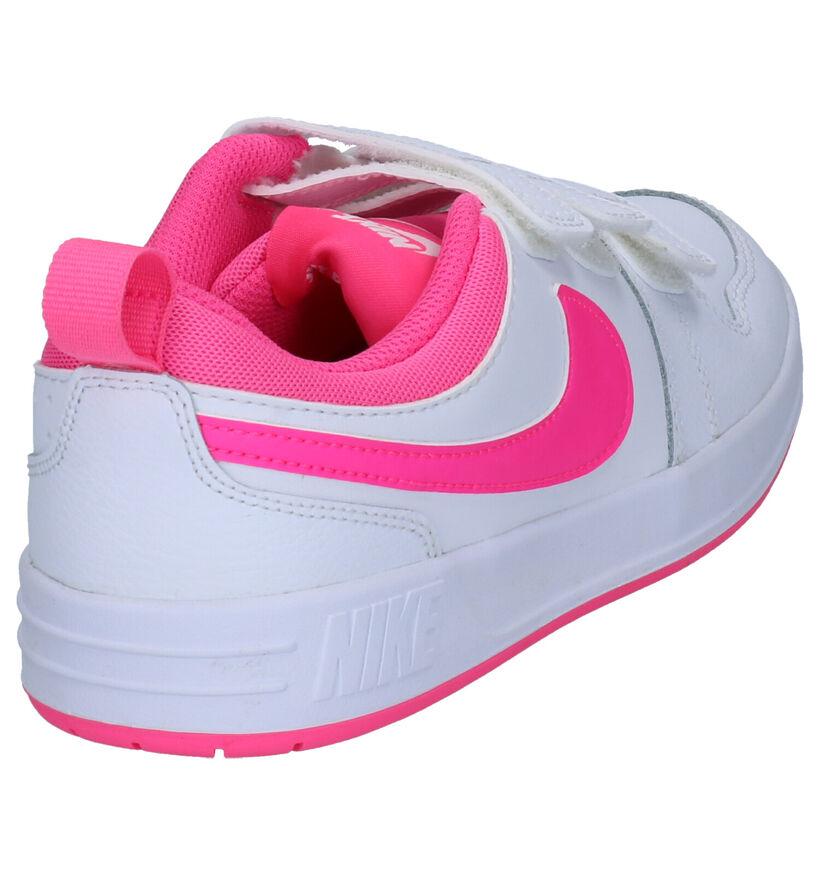 Nike Pico 5 Witte Sneakers in kunstleer (253958)