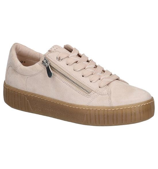 Youh! Chaussures à lacets en Beige clair