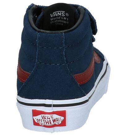 Vans Skate sneakers en Bleu foncé en daim (207927)