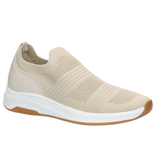 Dazzle Beige Slip-on sneakers