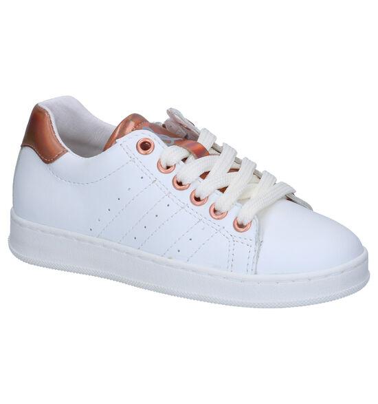 Milo & Mila Mali Chaussures à Lacets en Blanc
