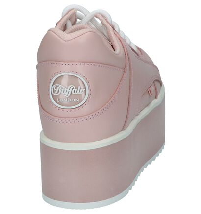 Buffalo London Baskets basses en Blanc en cuir (240567)