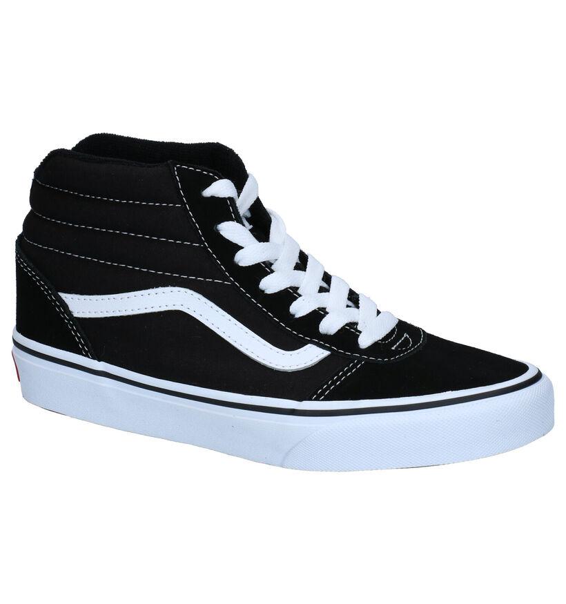 Vans Ward Zwarte Sneakers in daim (277576)