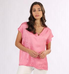 Vero Moda Glee Blauwe T-shirt (293141)