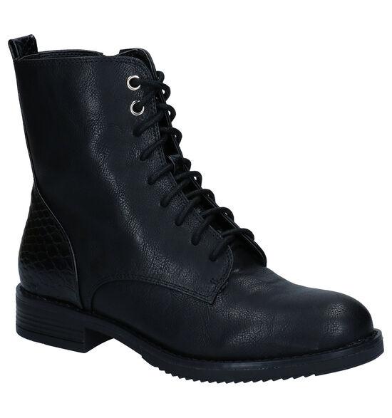 Poelman Zwarte Boots