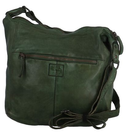Zwarte Crossbody Tas Bear Design , Groen, pdp