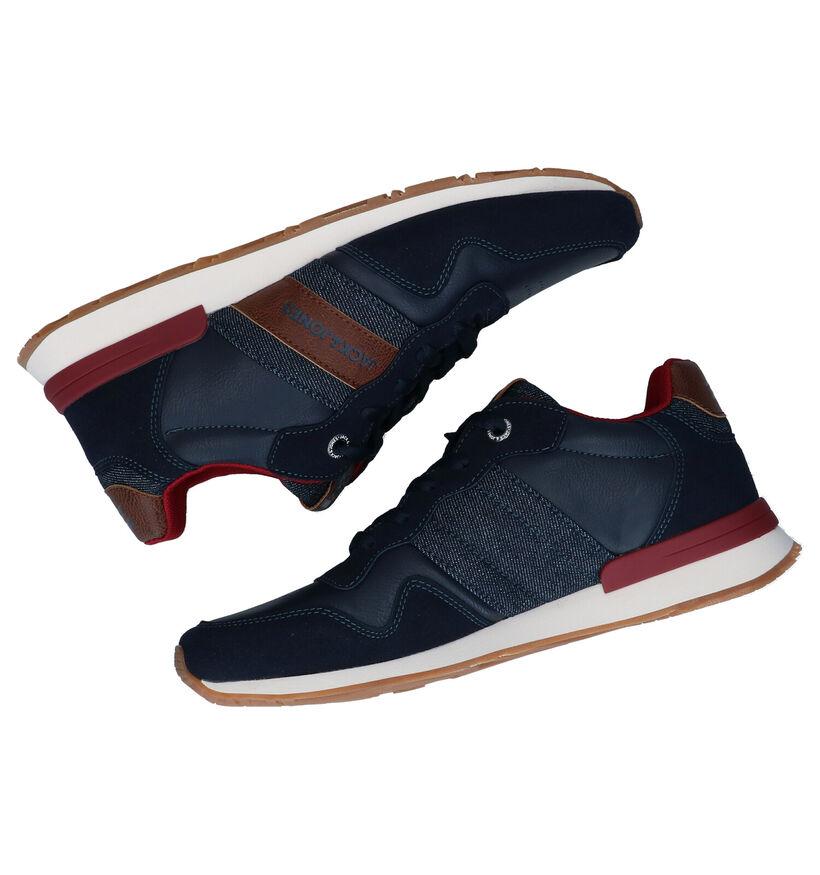 Jack & Jones Chaussures basses en Noir en simili cuir (278259)