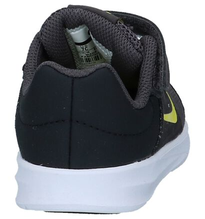 Nike Baskets basses en Bleu foncé en textile (222597)