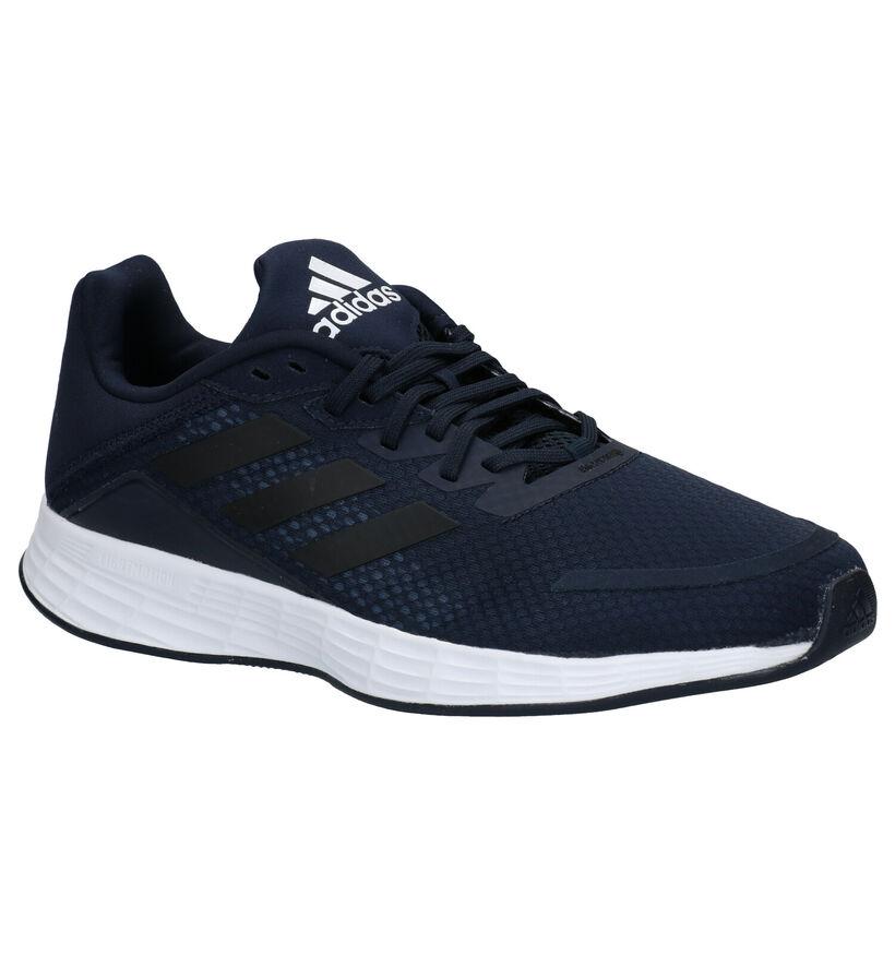 adidas Duramo SL Baskets en Bleu en simili cuir (273044)