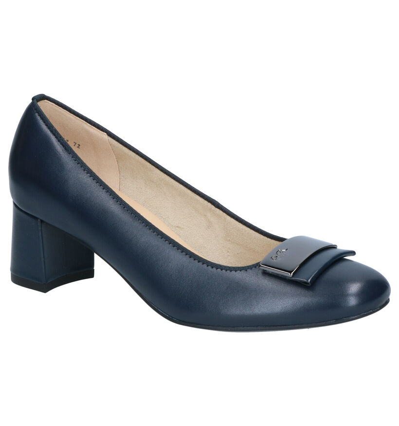 Ara Brighton Blauwe Pumps in leer (272315)