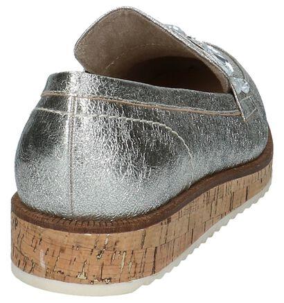 Gouden Loafers met Steentjes Marco Tozzi in kunstleer (214454)