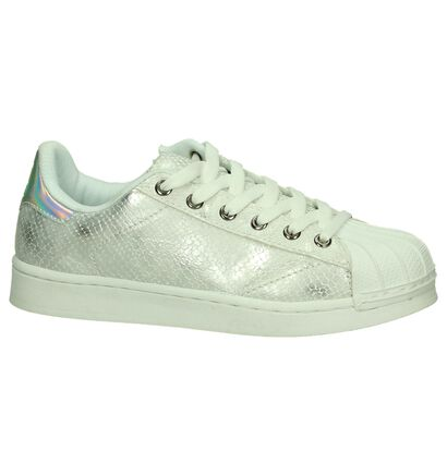Ghost Rockers Baskets basses en Blanc en simili cuir (189936)