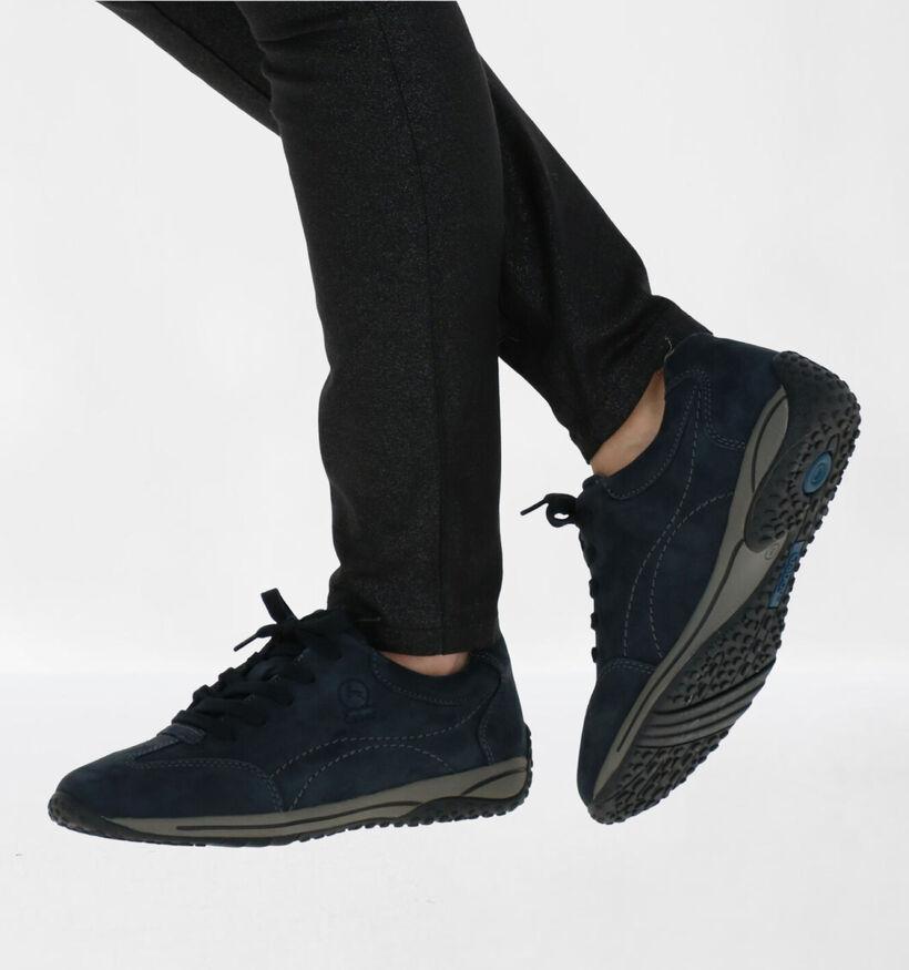 Gabor OptiFit Chaussures à lacets en Noir en nubuck (282410)