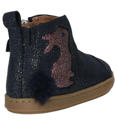 Shoo Pom Bouba Pimpin Chaussures enfants en Bleu en cuir (255212)