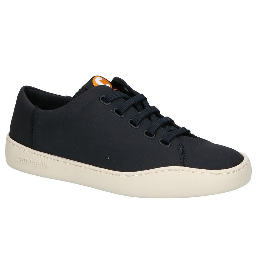 Camper Chaussures à lacets en Noir en textile (272256)