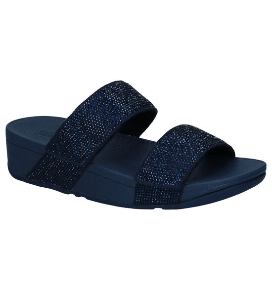 Fitflop Mina Blauwe Slippers