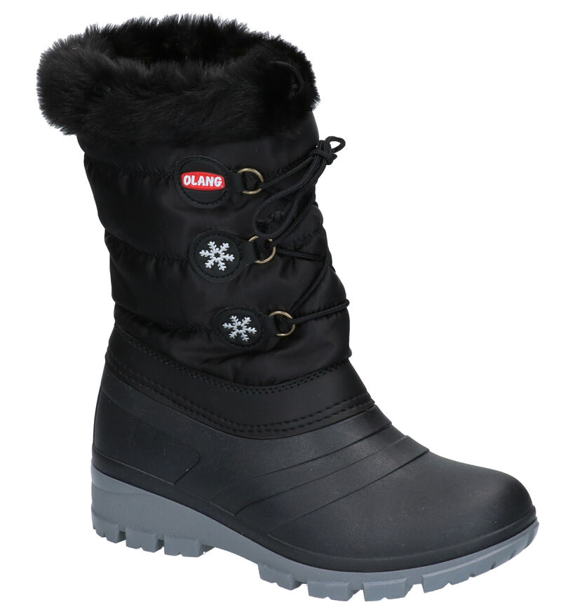 Olang Patty Zwarte Snowboots in stof (262755)