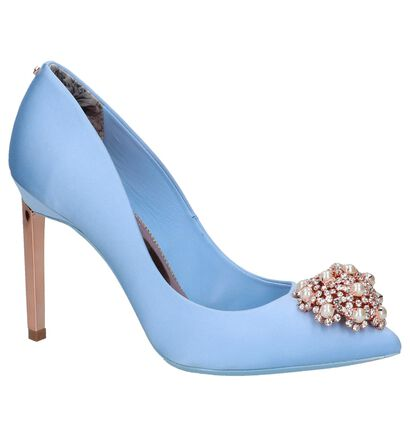 Lichtblauwe Ted Baker Peetch Pumps, Blauw, pdp
