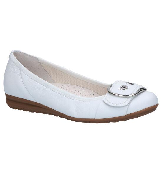 Gabor Easy Walking Witte Ballerina's