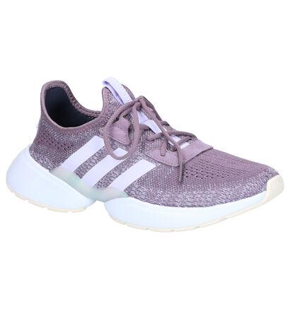 adidas Mavia X Grijze Sneakers in daim (264927)