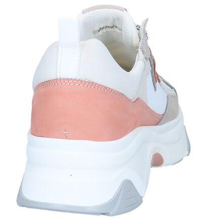 Witte Nineties Sneakers Hampton Bays in leer (239243)