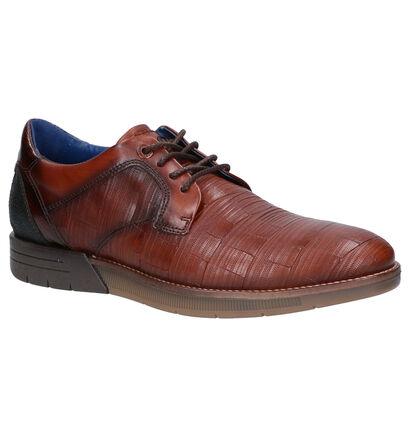 Braend Chaussures habillées en Cognac en cuir (261044)