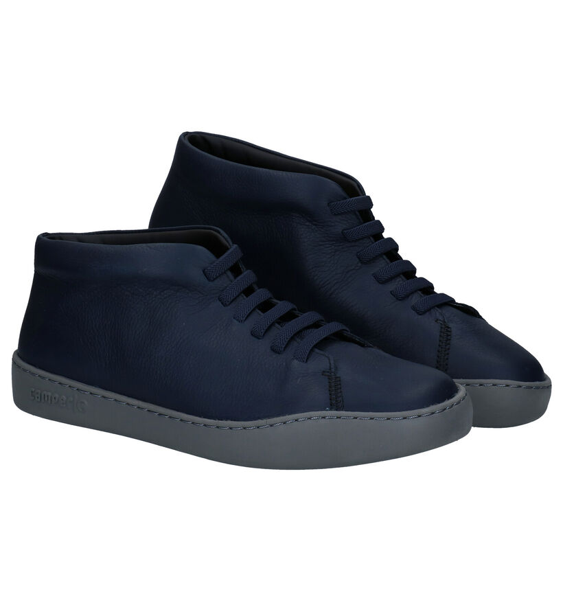 Camper Chaussures hautes en Noir en cuir (282815)