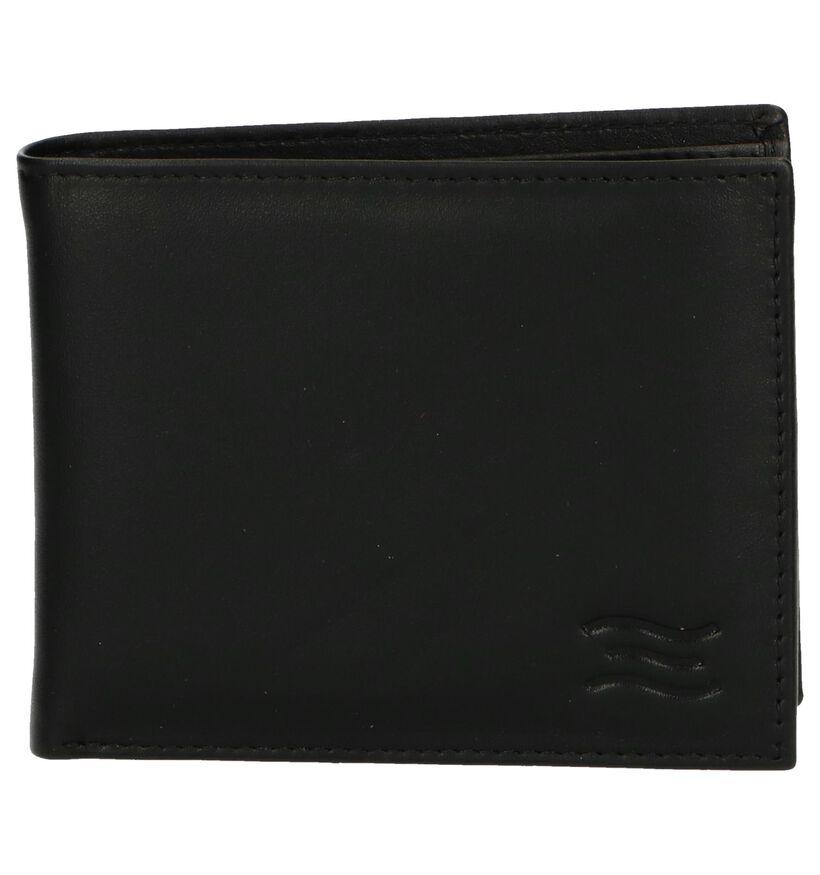 Crinkles Portefeuilles en Noir en cuir (250607)