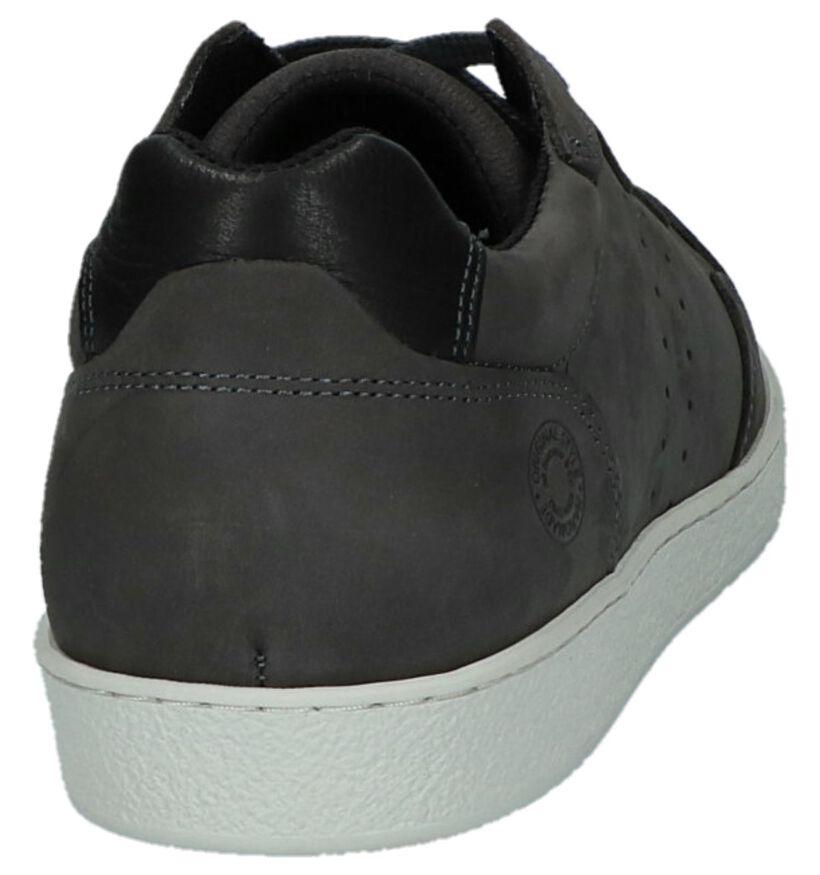 Bullboxer Chaussures basses en Gris foncé en nubuck (232171)
