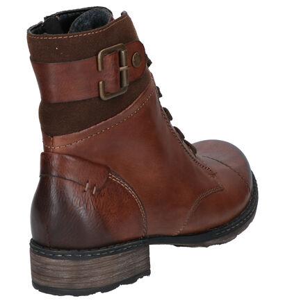Remonte Cognac Boots in leer (260591)