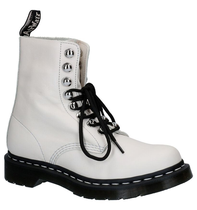 Dr. Martens 1460 Pascale Ecru Boots in leer (277069)