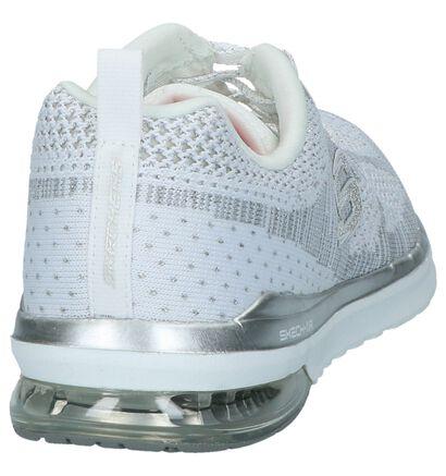 Zilveren Runner Sneakers Skechers Memory Foam, Zilver, pdp