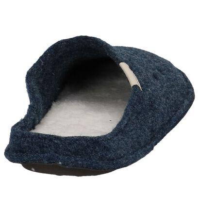 Donkerbruine Pantoffels Crocs Classic in stof (227129)