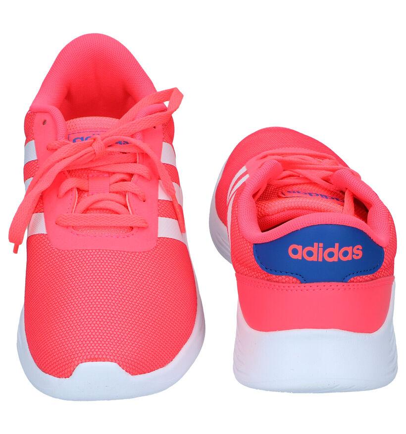 adidas Lite Racer 2.0 Roze Sneakers in kunstleer (276588)