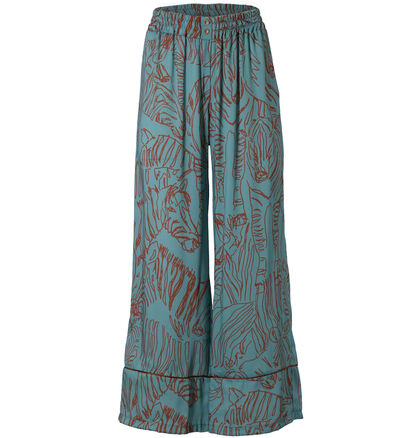 Giorgia & Johns Pantalon Large en Bleu (277193)
